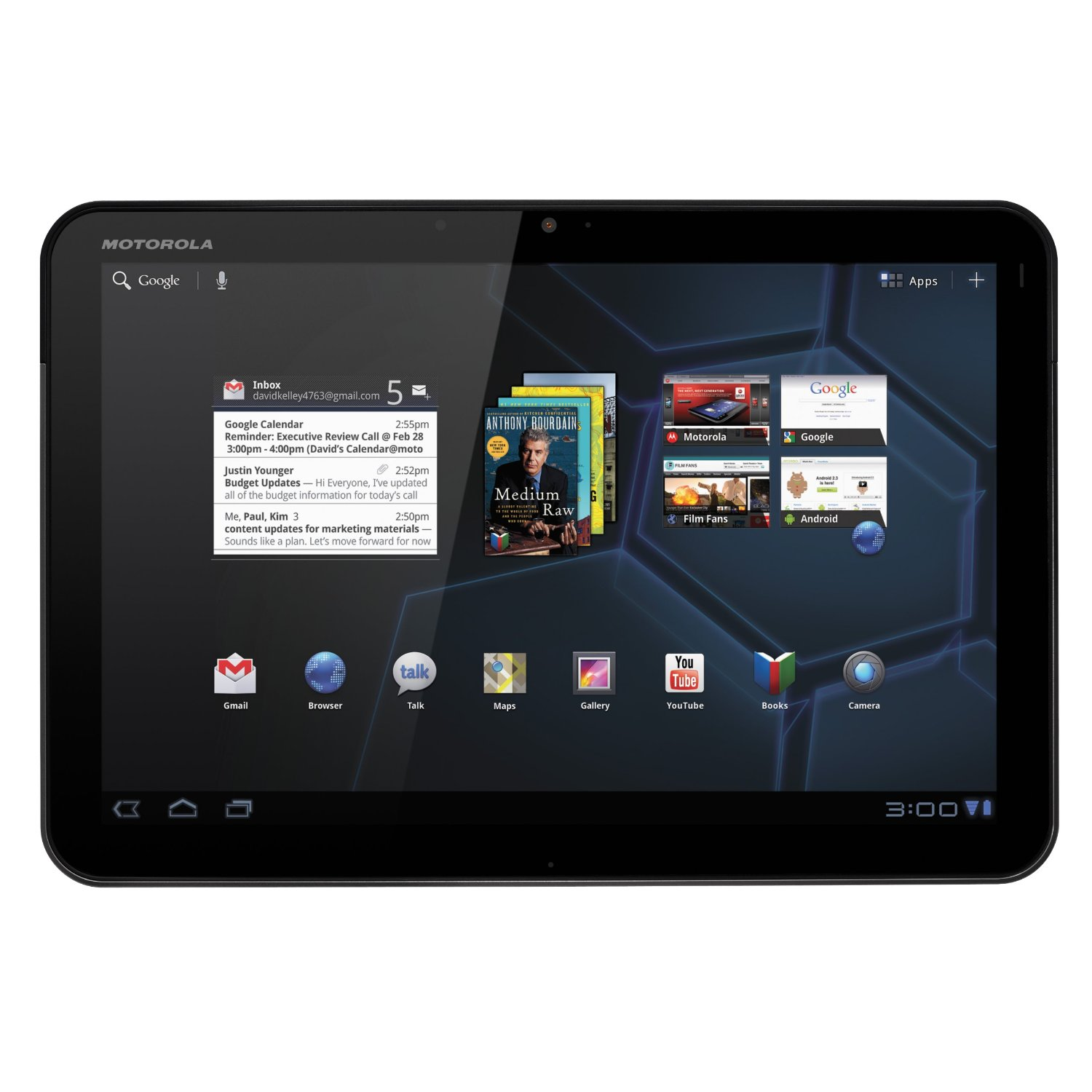 Xoom 10.1 Android Tablet | Reviews, Specs 32GB  Tablet Junki